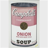 onion soup (from campbell's soup i) by andy warhol