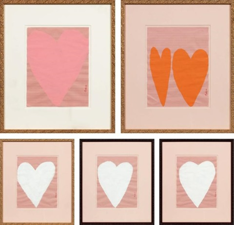 heart (5 works) by cary s. leibowitz (candyass)