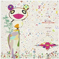superflat monogram: panda and his friends by takashi murakami