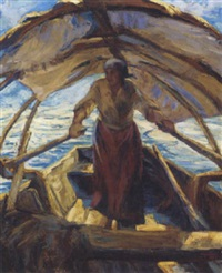 the fisherwoman by alfeo argentieri