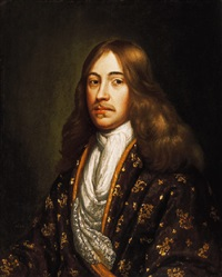 arisztokrata férfi portréja (portrait of an aristocrat) by michiel van muscher