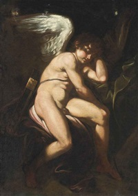 sleeping cupid by cavaliere giovanni baglione