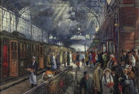 station hollands spoor, the hague by hans von faber du faur