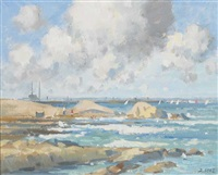 towards dun laoghaire by david hone