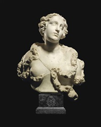 bust of diana by michele fabris