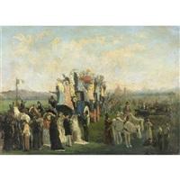 la festa del sacro cuore by vito d' ancona