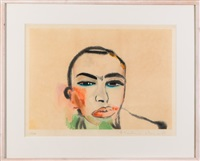 untitled by francesco clemente
