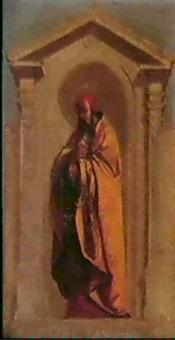 saint-joachim & saint-zacharias by auguste hesse