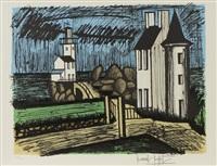 le phare de granville by bernard buffet