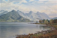 loch duich by george melvin rennie