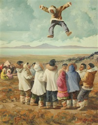 inuit trampoline by harvey goodale