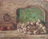 nature morte au reveil by marko