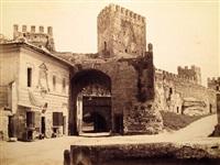 porta san lorenzo (+ il foro romano; 2 works) by tommaso cuccioni