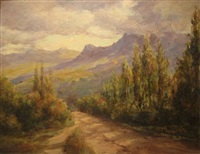morning at hout bay by edward clark churchill mace
