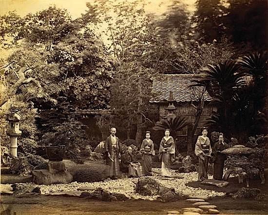 Jardin Japonais Japon By Felice Beato On Artnet