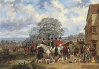 meet of harriers by dean wolstenholme the younger