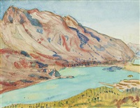 silsersee by cuno amiet