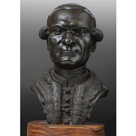 bust of martin georg kovachich by franz xaver messerschmidt