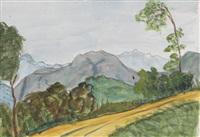 landschaft bei montagnola by hermann hesse
