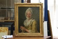 portrait de femme by jacques andré joseph aved
