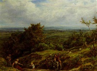 playful return, redhill, surrey by william linnell