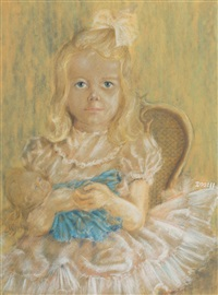 portrait of joanna m booth by william dobell