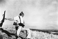 death of a loyalist soldier by robert capa
