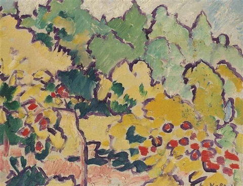 parc de bagatelle by louis valtat