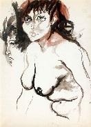 nudo e profilo by renato guttuso