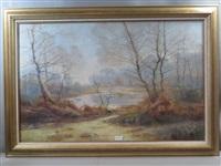 paysage d'hiver by albert gabriel rigolot