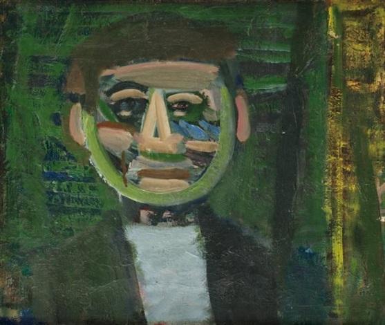 portrait dhomme souriant by artur nacht samborski