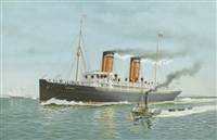 """r.m.s. campania"" by marcus ward"