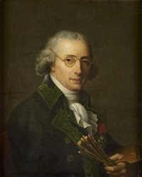 portrait du peintre françois-andré vincent, chevalier de la légion d'honneur by adélaïde labille-guiard