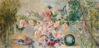 fleurs et papillons by valentine synave nicolaud (fray) val