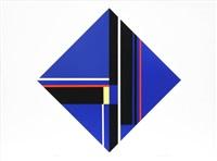 blue diamond by ilya bolotowsky