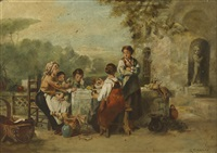 the midday meal (after karel frans phillippeau) by robert mannix