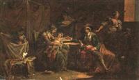 scenes de la vie napolitaine by jacques sablet