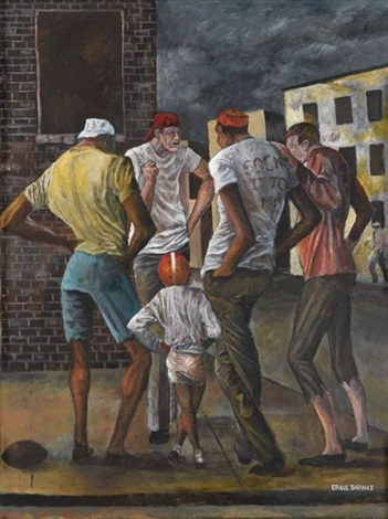 setting the game rules by ernie barnes