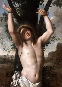 saint sébastien by annibale carracci