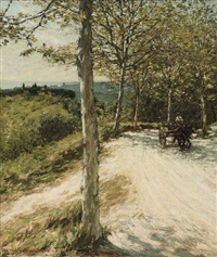 spring in provence by henry herbert la thangue