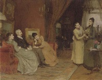 portrait of the joseph family by sir william quiller orchardson