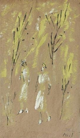 dans la forêt by mikhail larionov