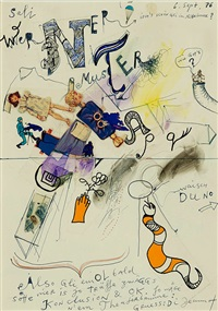 sali werner muster by jean tinguely