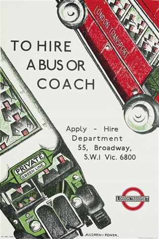 to hire a bus or coach by sybil andrews