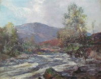 a highland stream by archibald kay