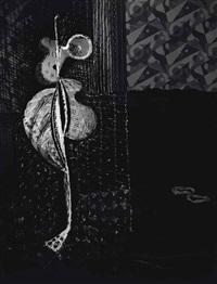 fille de joie se déshabillant gravure 9, transmutation 6, 1935 by brassaï
