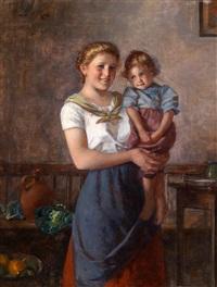 mutter und kind by edmund adler