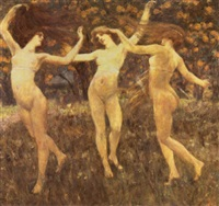 the three graces by cesare laurenti