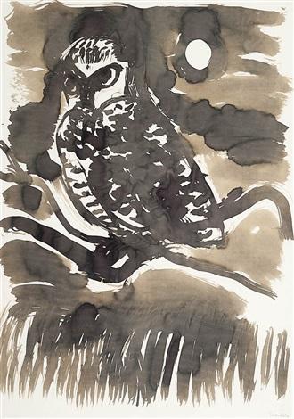 night owl by brett whiteley