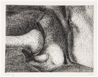 pl. xix (from elephant skull) by henry moore